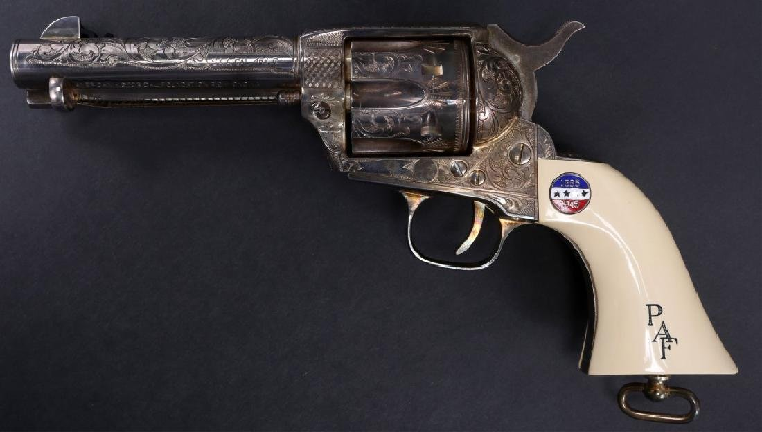 UBERTI COLT MODEL 1873 SAA PATTON COMMEMORATIVE - 4