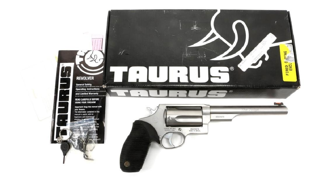 TAURUS THE JUDGE 410 / .45 COLT REVOLVER