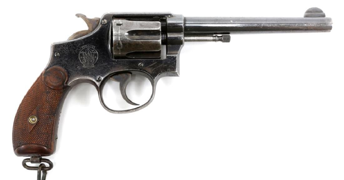 US ARMY SMITH AND WESSON MODEL 1899 REVOLVER - 2