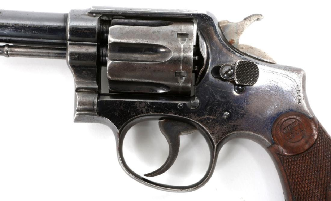 US ARMY SMITH AND WESSON MODEL 1899 REVOLVER - 5