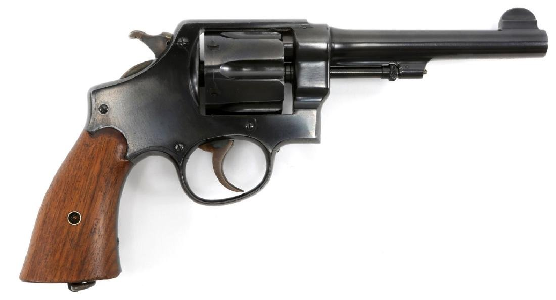 US SMITH & WESSON MODEL 1917 .45 CAL REVOLVER