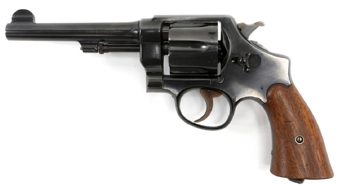 US SMITH & WESSON MODEL 1917 .45 CAL REVOLVER - 3