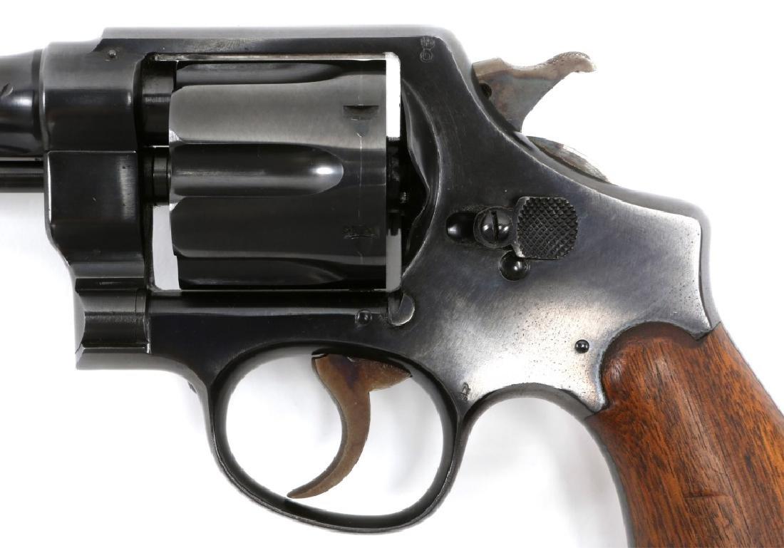 US SMITH & WESSON MODEL 1917 .45 CAL REVOLVER - 4