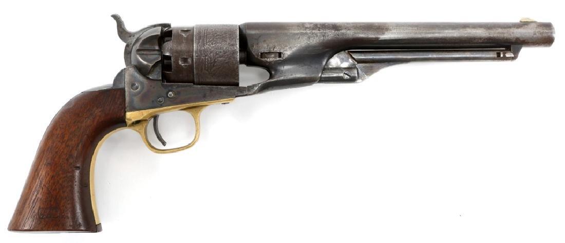 1863 US COLT ARMY MODEL 1860 .44 CAL REVOLVER