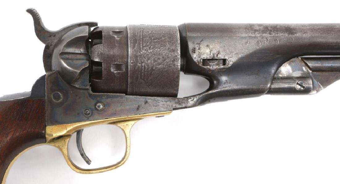 1863 US COLT ARMY MODEL 1860 .44 CAL REVOLVER - 2