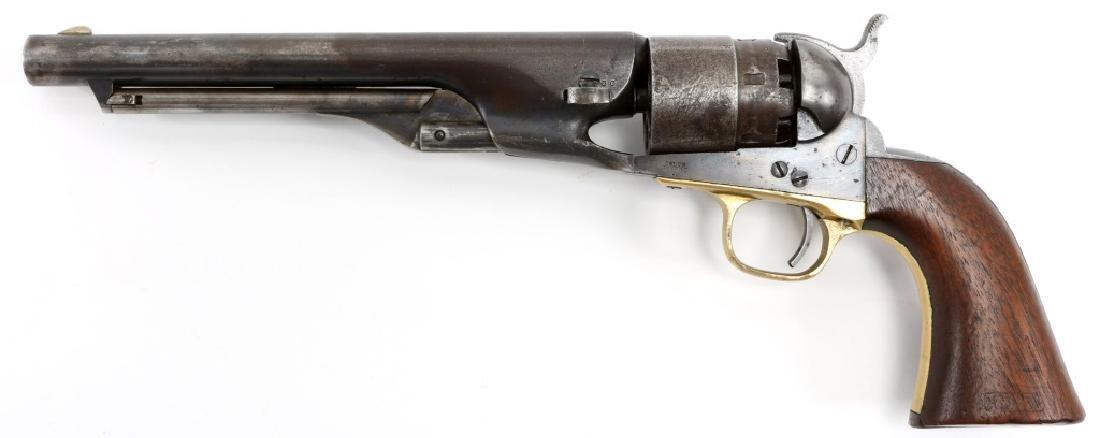 1863 US COLT ARMY MODEL 1860 .44 CAL REVOLVER - 3