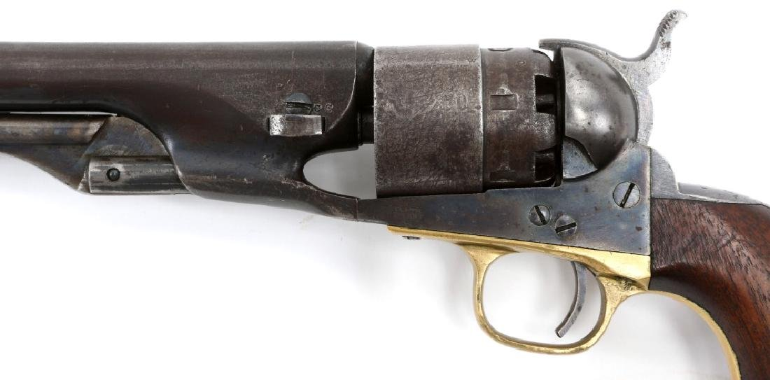 1863 US COLT ARMY MODEL 1860 .44 CAL REVOLVER - 4