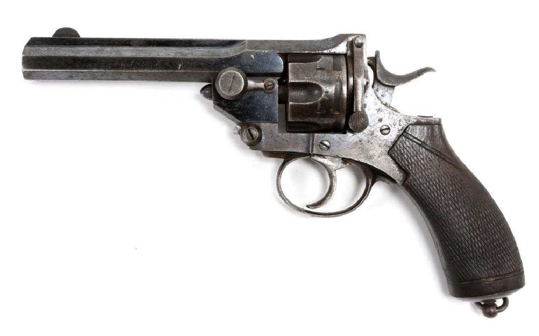 WEBLEY PRYSE MODEL 1877 .450 ADAMS CAL REVOLVER - 3