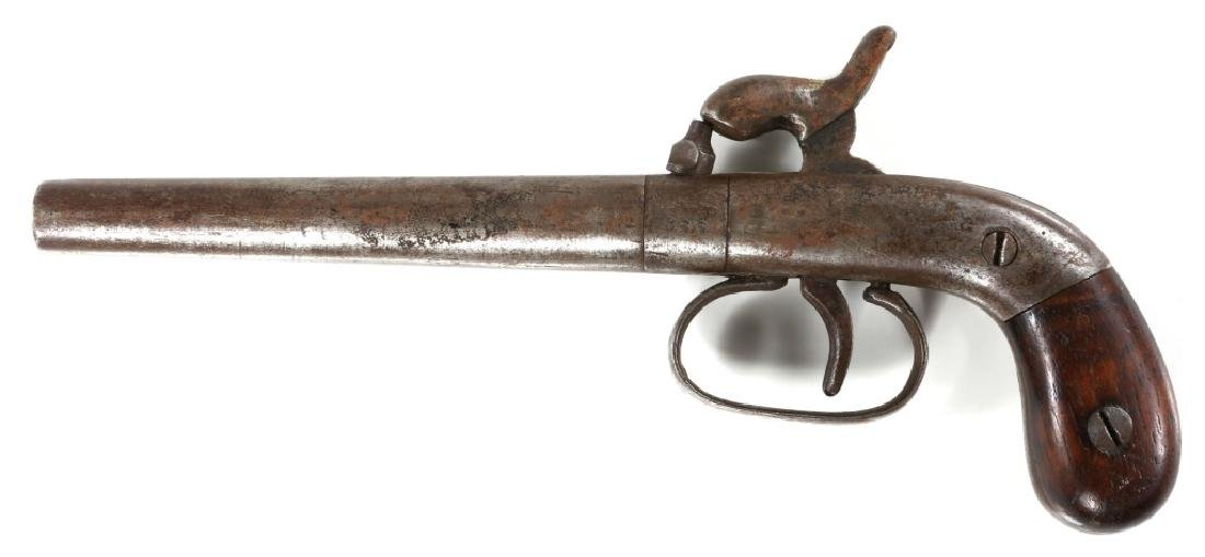 BELGIAN .34 CALIBER PERCUSSION PISTOL - 2