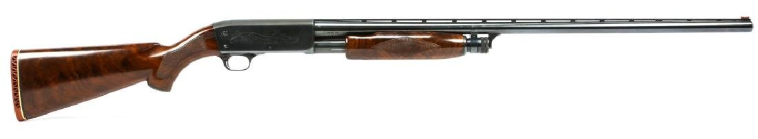 ITHACA MODEL 37 FEATHERLIGHT 12 GAUGE PUMP SHOTGUN