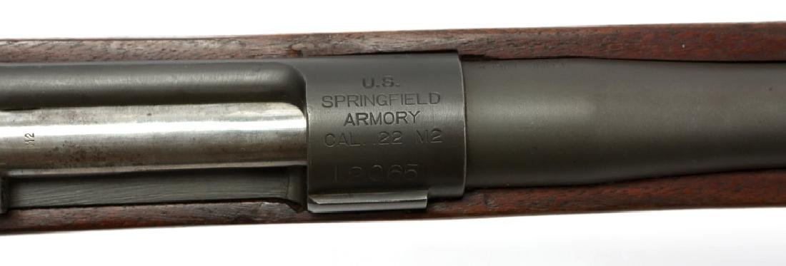WWII US SPRINGFIELD MODEL M2 RIFLE .22 CAL - 9
