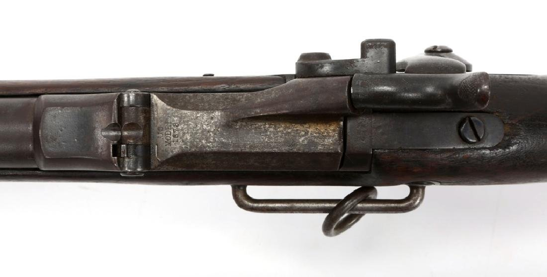 US SPRINGFIELD MODEL 1873 TRAPDOOR CARBINE - 9
