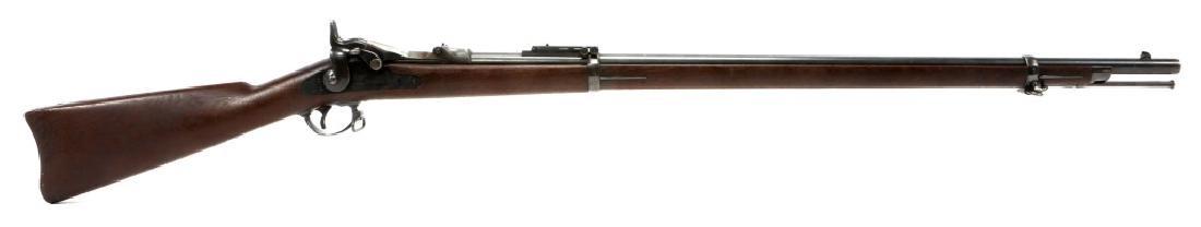 US SPRINGFIELD MODEL 1884 .45 CAL TRAPDOOR RIFLE