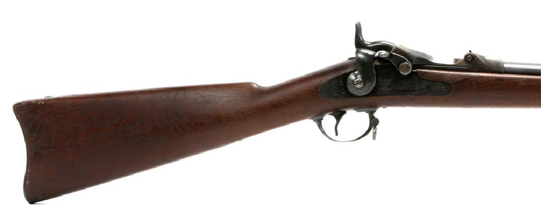 US SPRINGFIELD MODEL 1884 .45 CAL TRAPDOOR RIFLE - 2