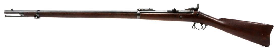 US SPRINGFIELD MODEL 1884 .45 CAL TRAPDOOR RIFLE - 6