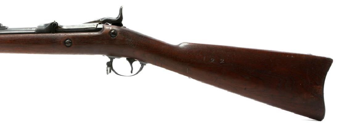 US SPRINGFIELD MODEL 1884 .45 CAL TRAPDOOR RIFLE - 7
