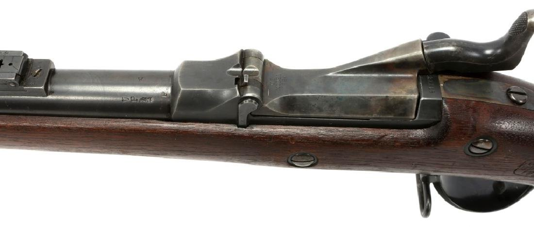 US SPRINGFIELD MODEL 1884 .45 CAL TRAPDOOR RIFLE - 9