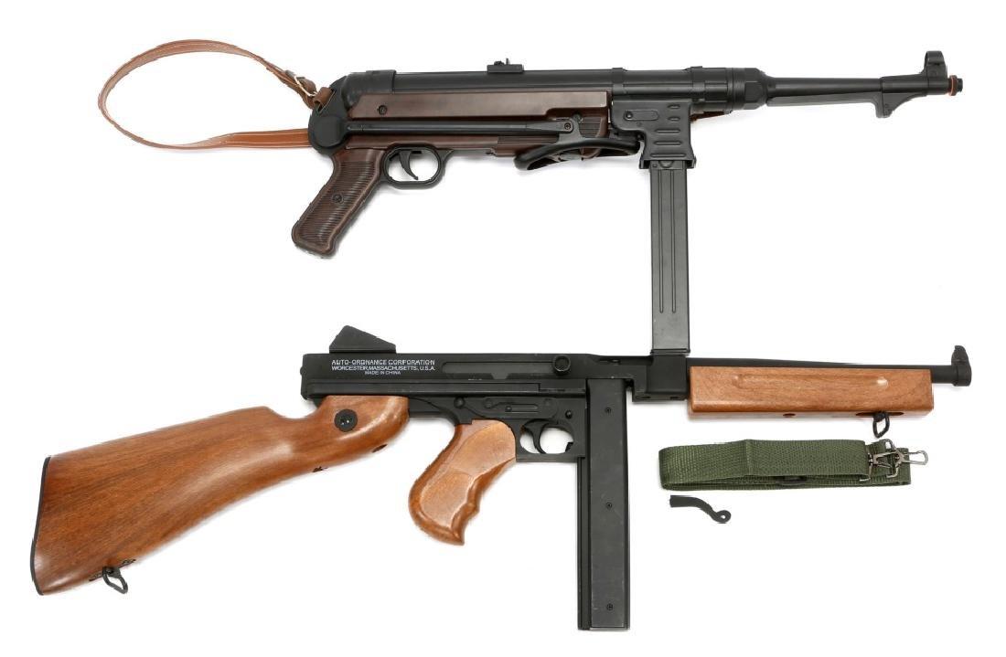 AIRSOFT SUBMACHINE GUN LOT OF 2