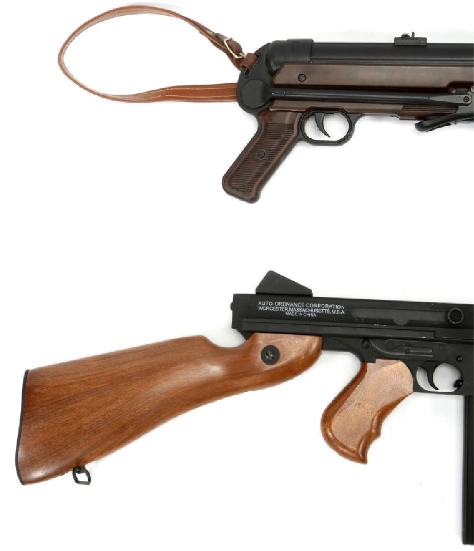 AIRSOFT SUBMACHINE GUN LOT OF 2 - 2