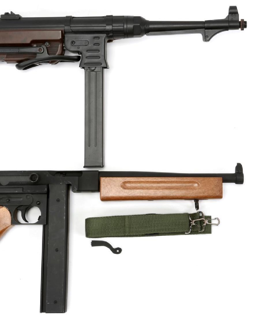AIRSOFT SUBMACHINE GUN LOT OF 2 - 3