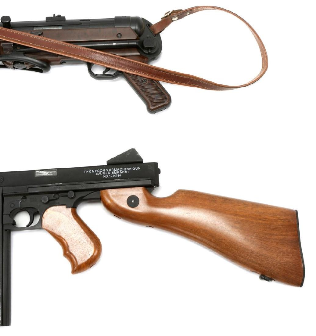 AIRSOFT SUBMACHINE GUN LOT OF 2 - 5