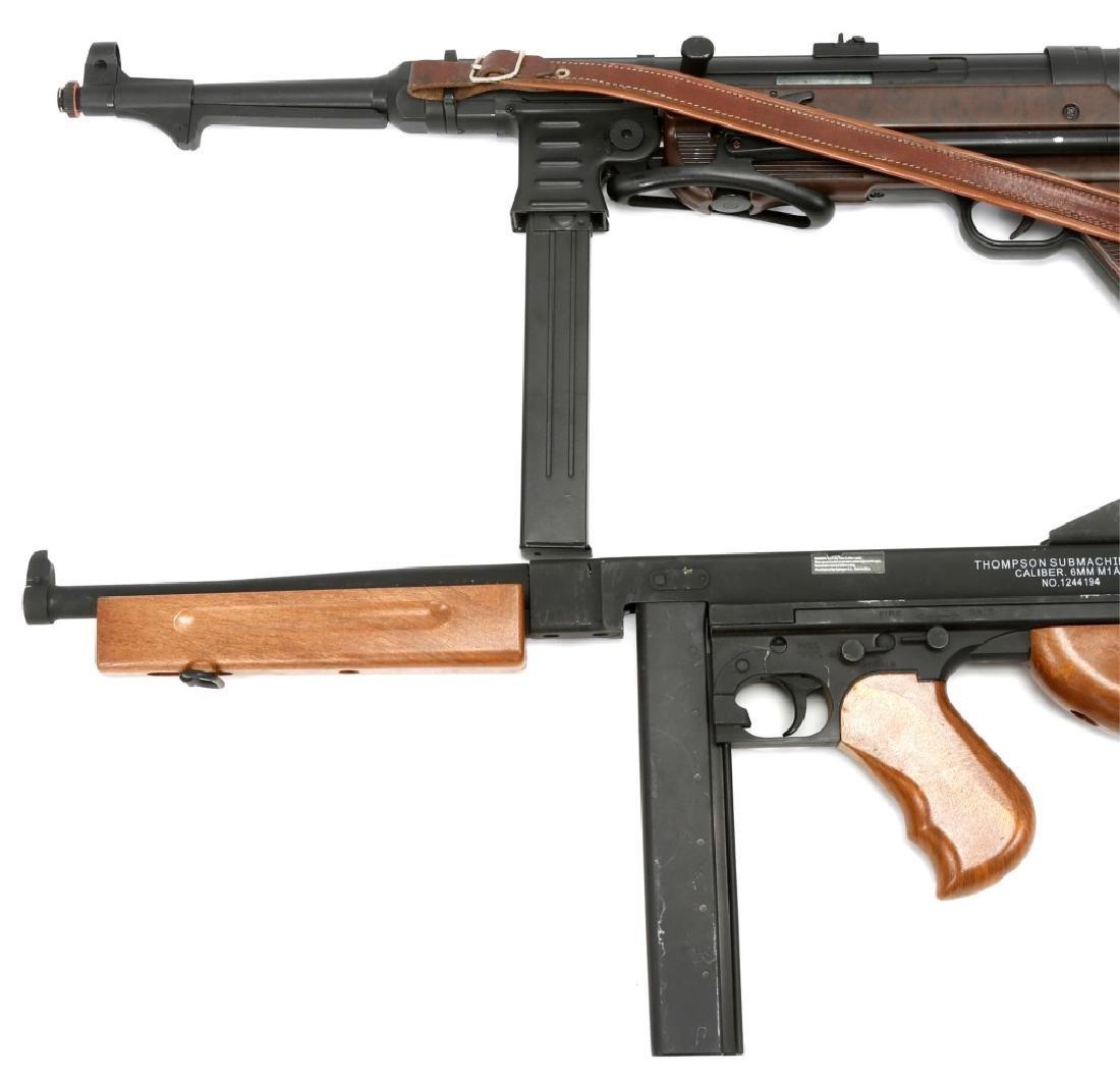 AIRSOFT SUBMACHINE GUN LOT OF 2 - 6