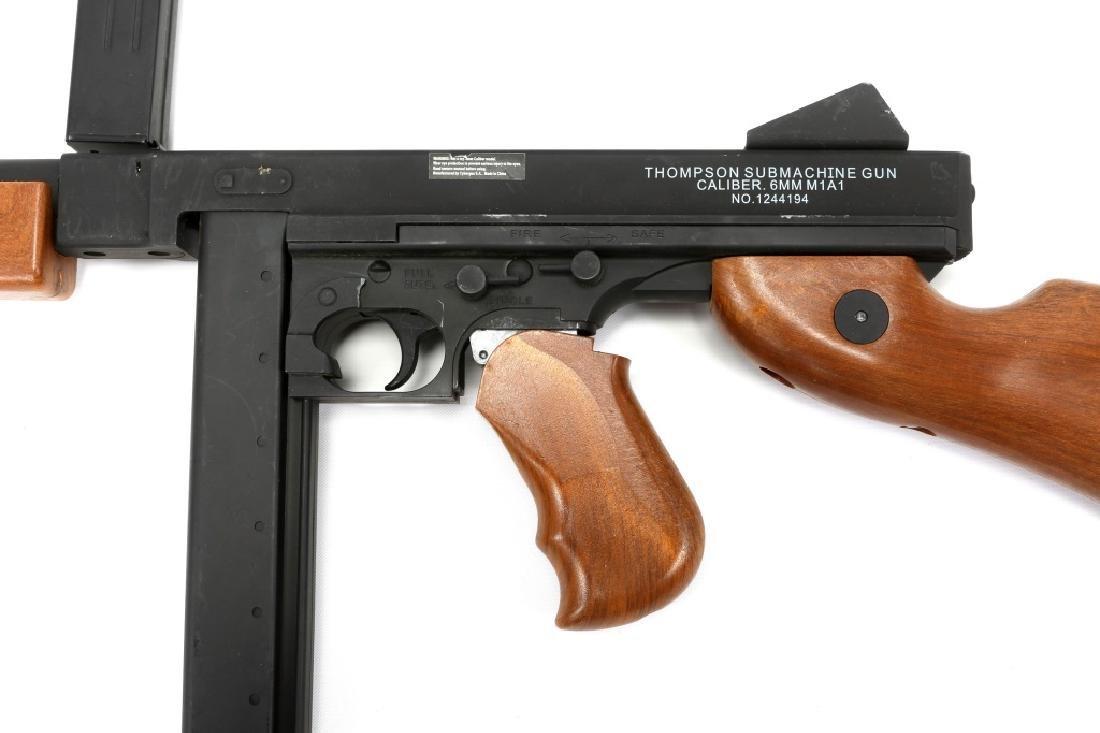 AIRSOFT SUBMACHINE GUN LOT OF 2 - 7