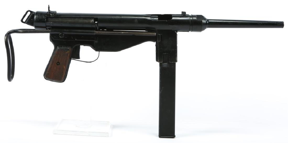 DISPLAY WWII FBP M48 & STEN MKII SMG - 2