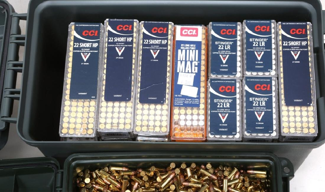 OVER 9000 ROUNDS .22 CAL AMMUNITION - 2