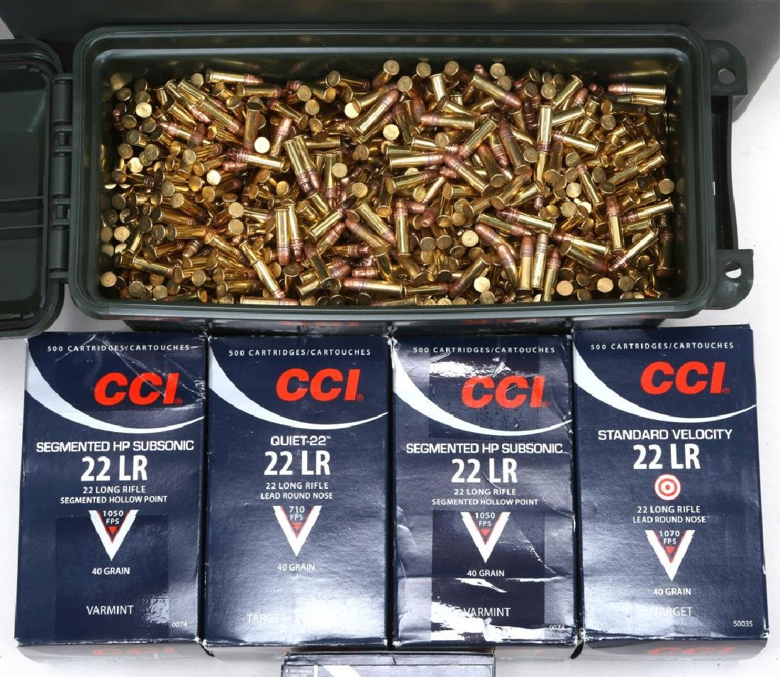 OVER 9000 ROUNDS .22 CAL AMMUNITION - 3