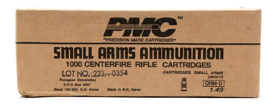 PMC .223 REM 55GR FMJ-BT 1000-ROUNDS