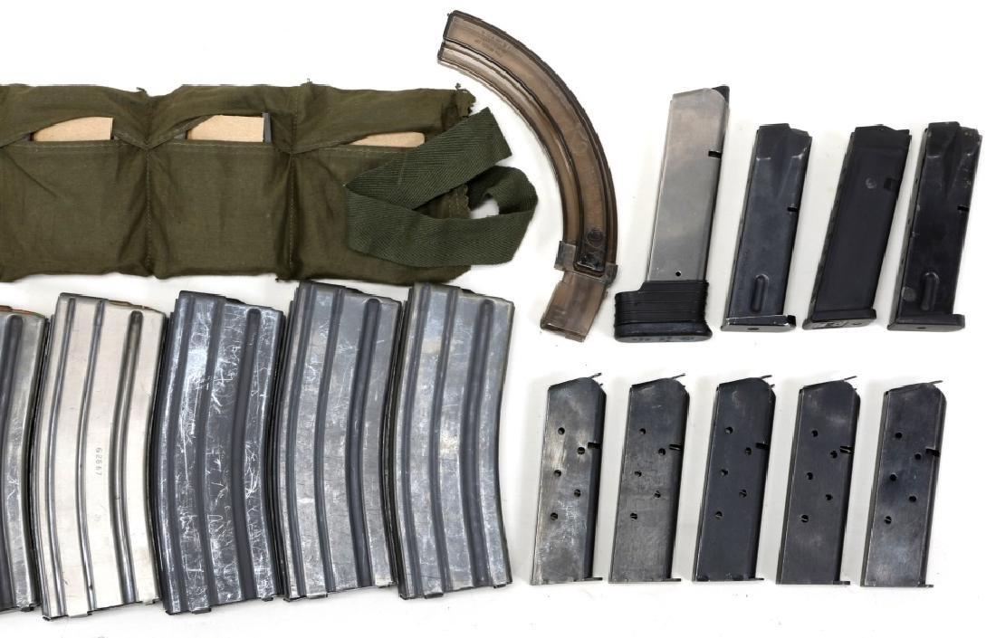 MIXED MAGAZINE &  AMMUNITION LOT IN AMMO CAN - 5