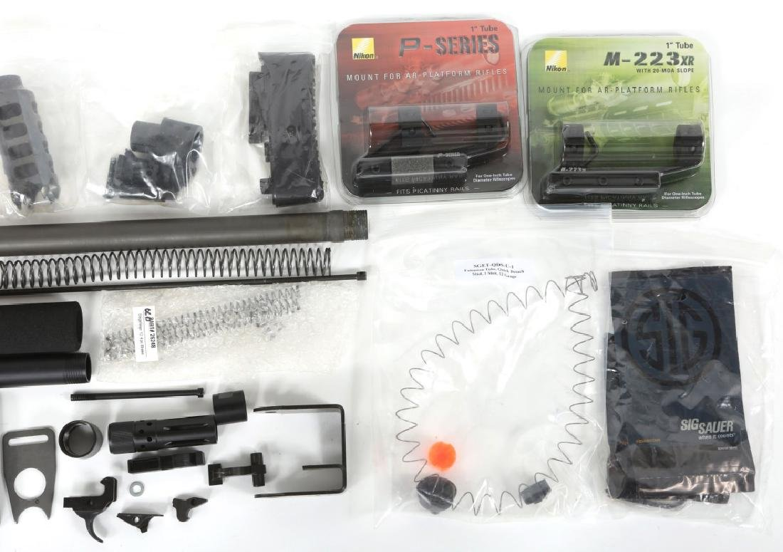 MIXED LOT OF FIREARM PARTS & ACCESSORIES - 3