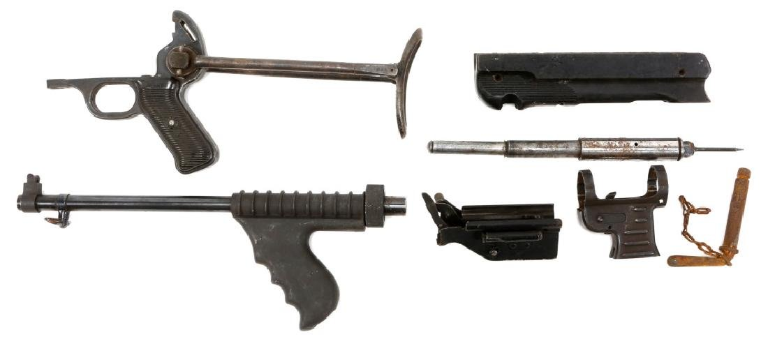 LOT OF MACHINE GUN PARTS - 4