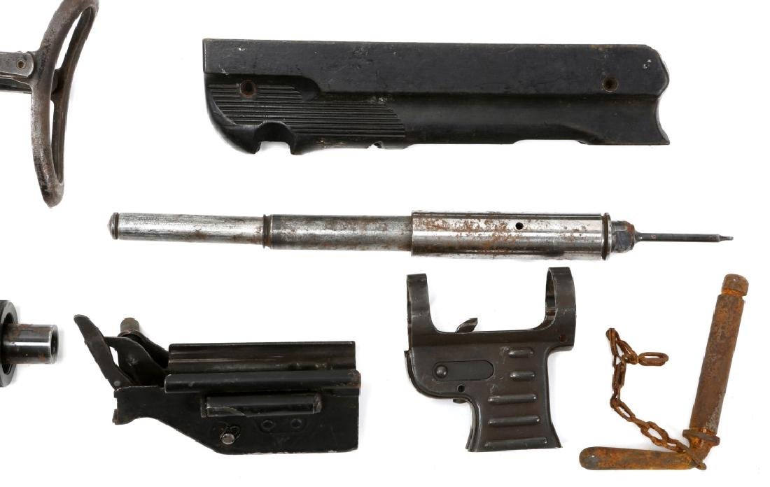 LOT OF MACHINE GUN PARTS - 6