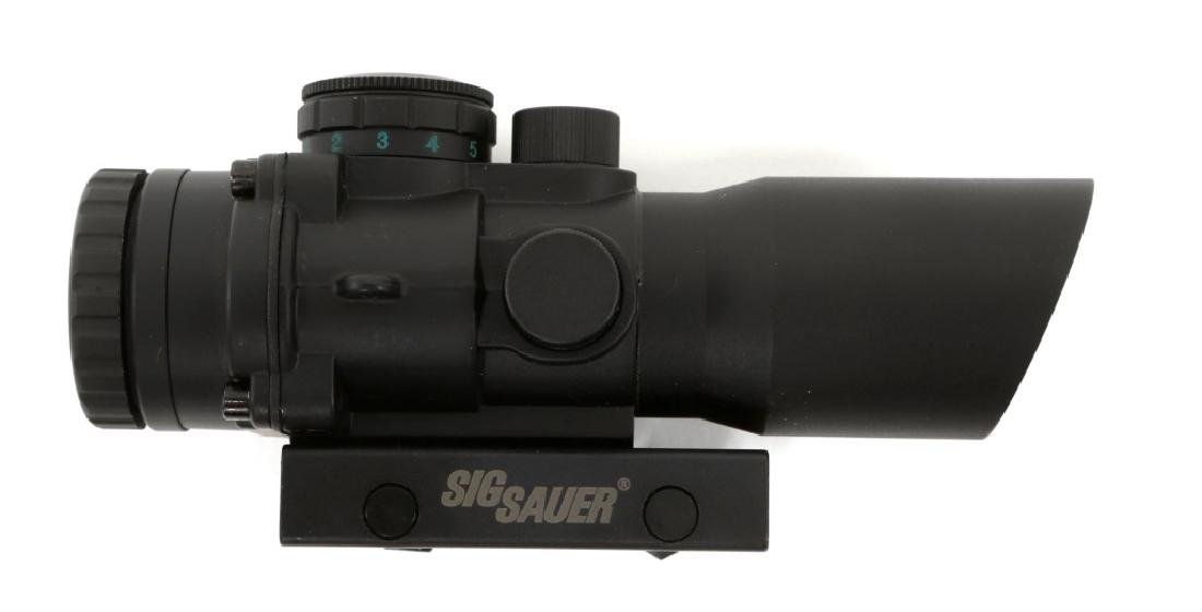 SIG SAUER CP1 VARIABLE MODEL RIFLE SCOPE