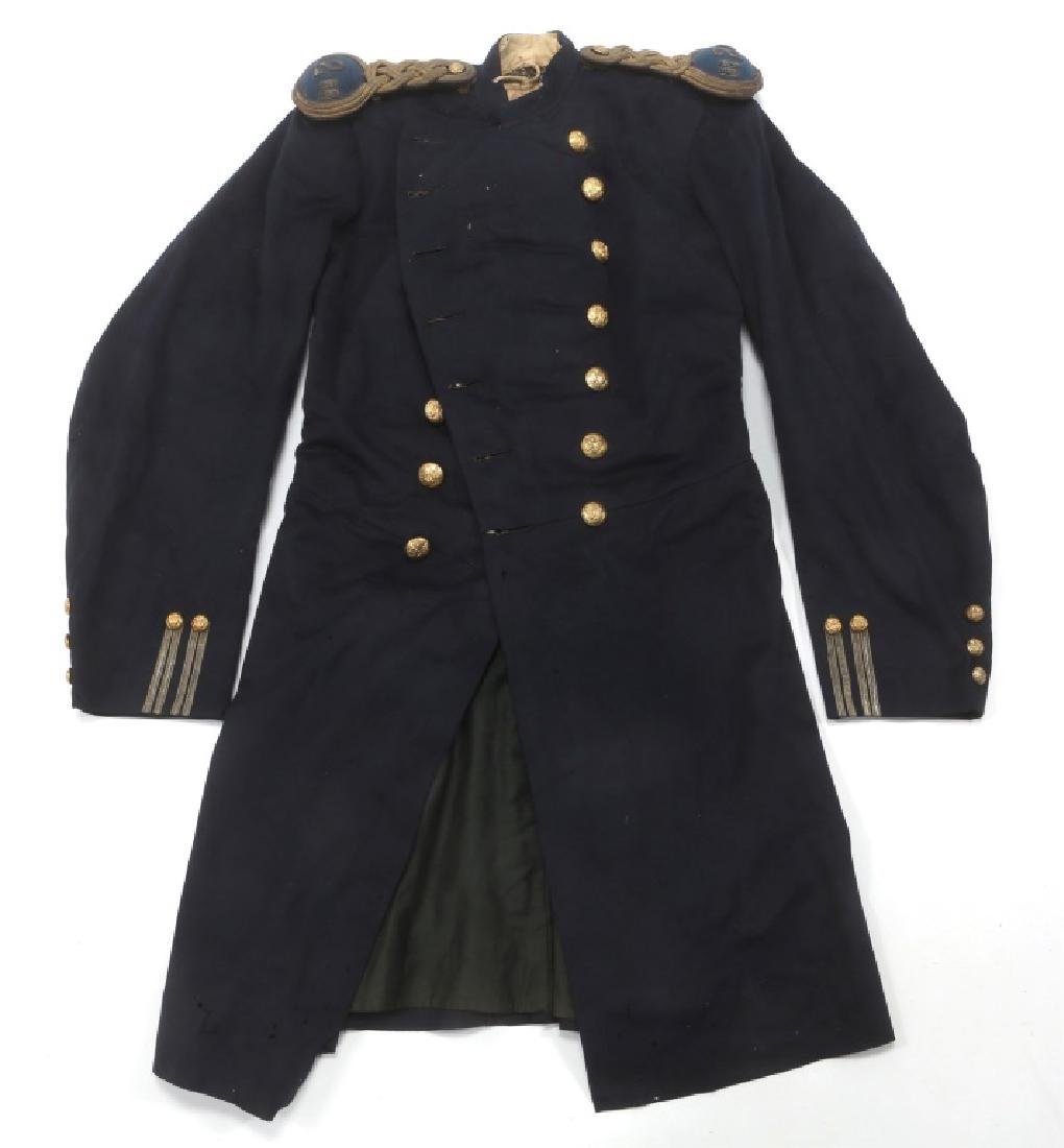 US ARMY EARLY INFANTRY FROCK COAT MODIFIED M1872