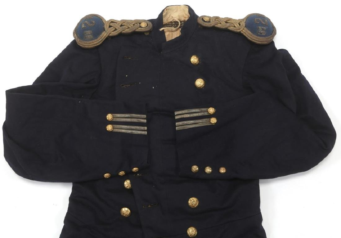 US ARMY EARLY INFANTRY FROCK COAT MODIFIED M1872 - 2