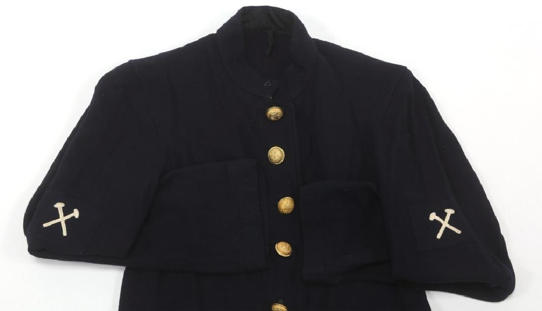 INDIAN WARS US ARMY OFFICER & ENLISTED UNIFORM LOT - 7