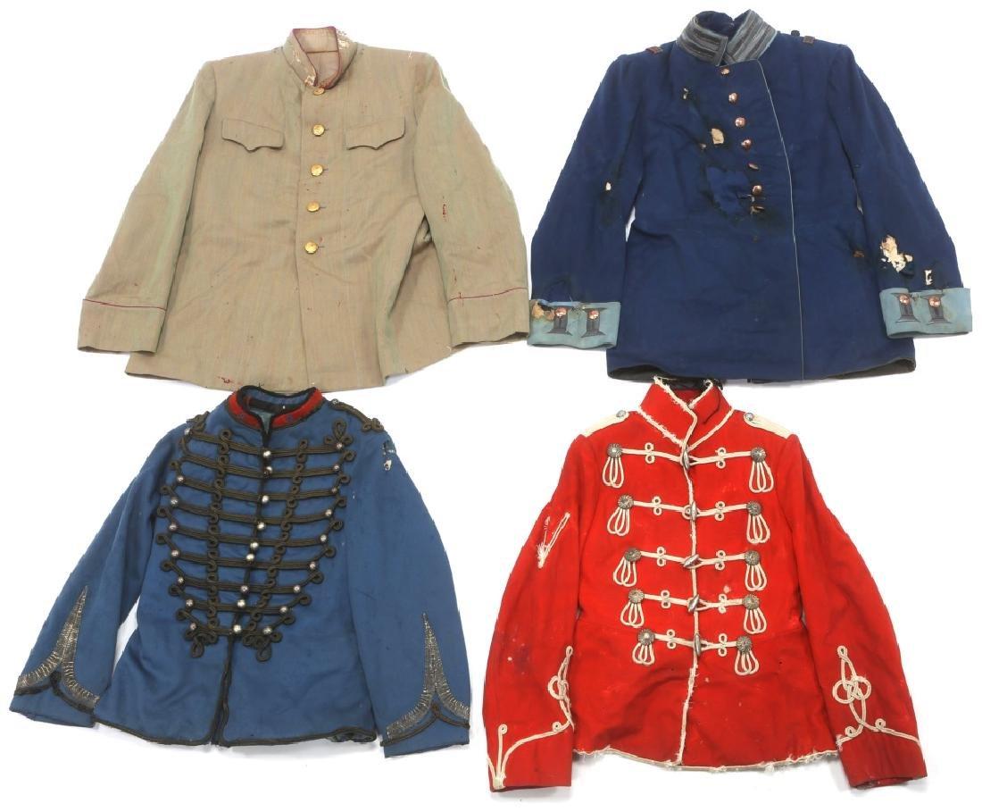 19th CENTURY WORLD MILITARY DRESS UNIFORM LOT - 2
