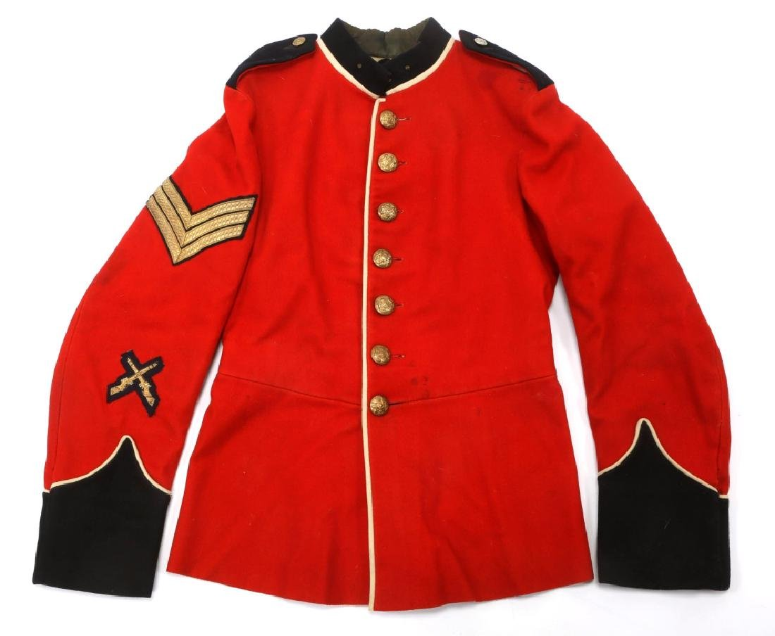 BRITISH ARMY DRESS UNIFORM MIXED LOT - 2