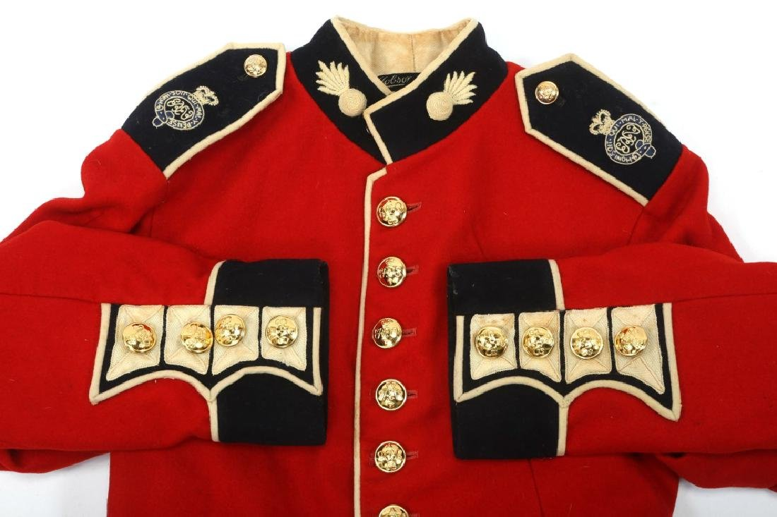 BRITISH ARMY DRESS UNIFORM MIXED LOT - 8