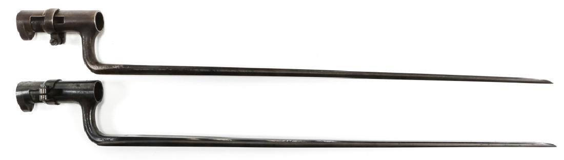 US MODEL 1873 BAYONET LOT OF 2 - 4