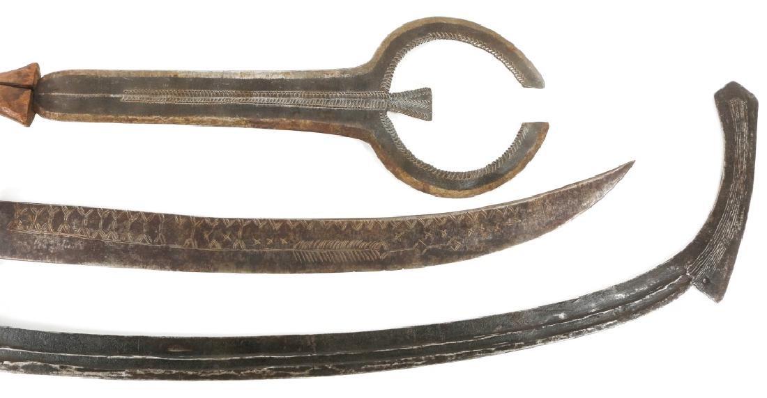 AFRICAN CONGO SWORD LOT OF 3 - 3