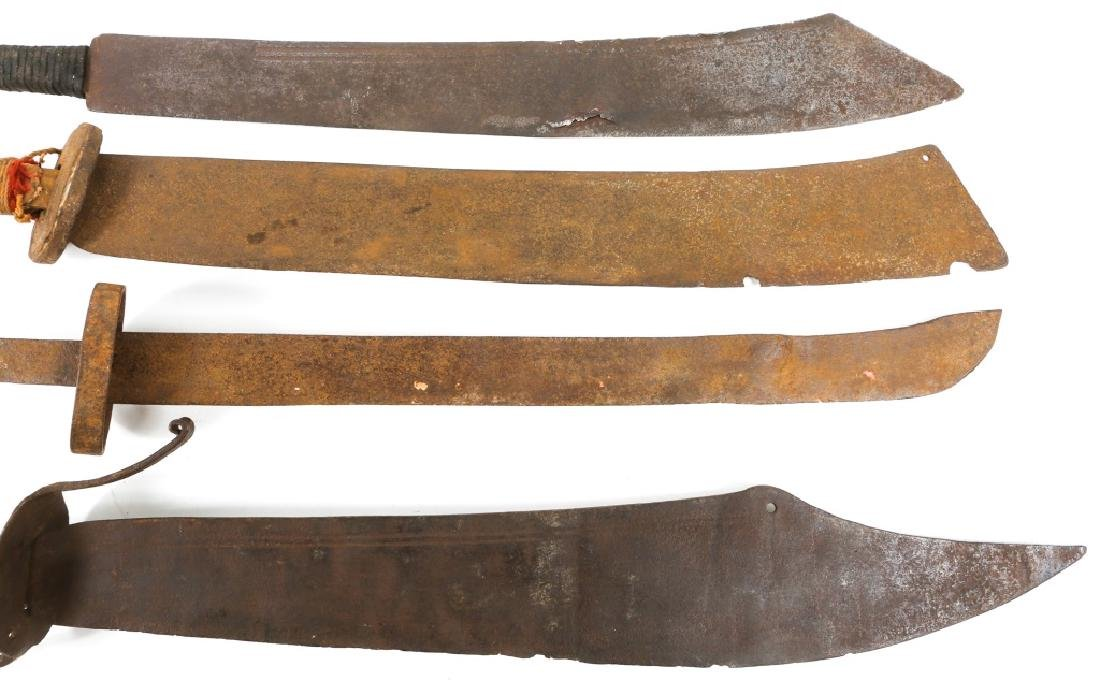 CHINESE DAO SWORD LOT OF 4 - 3