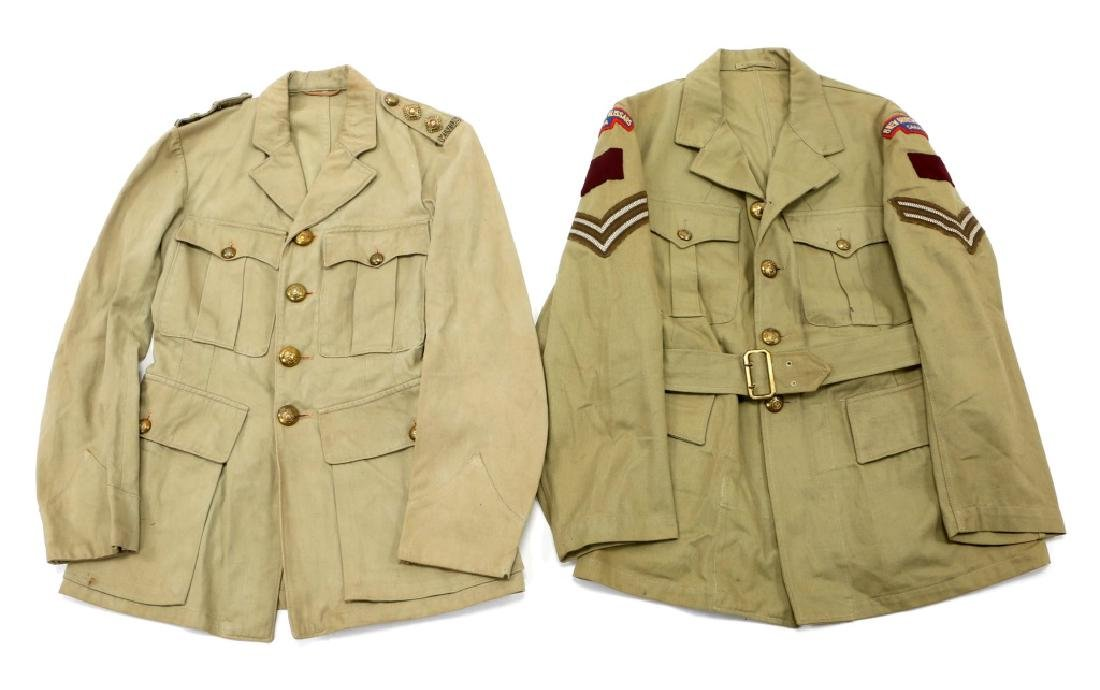WWII ROYAL CANADIAN ARMY UNIFORM MIXED LOT - 2