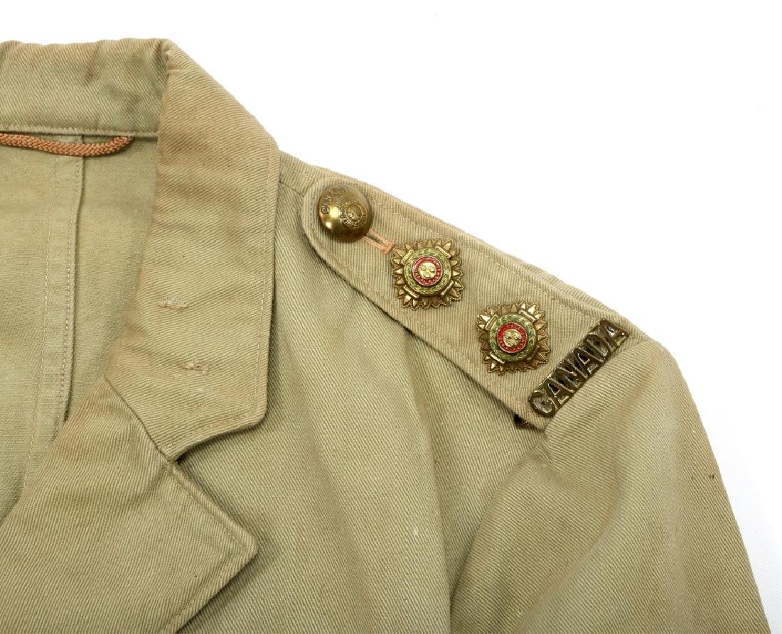 WWII ROYAL CANADIAN ARMY UNIFORM MIXED LOT - 3