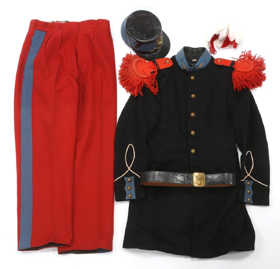 WWII FRENCH MILITARY CADET UNIFORM ST CYR SCHOOL