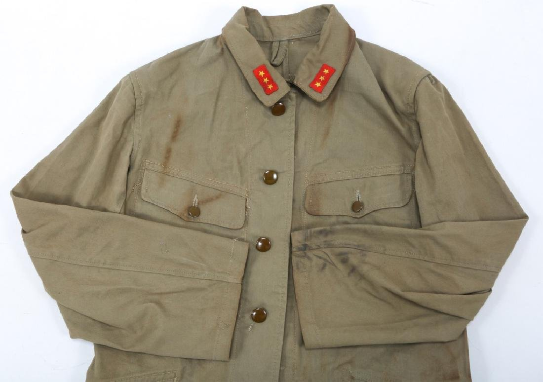 WWII JAPANESE ARMY UNIFORM GROUPING - 3