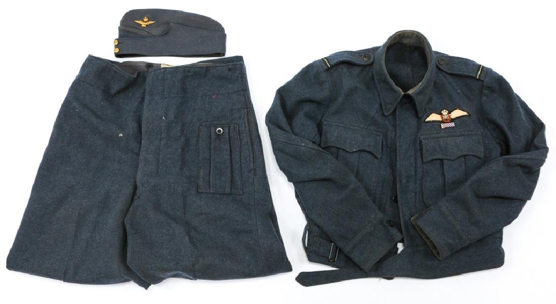 WWII BRITISH RAF PILOT DRESS UNIFORM